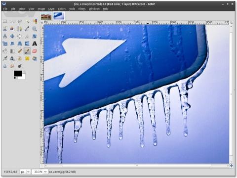 GIMP Single WiIndow Interface