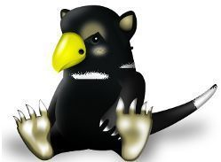 Tuz, the temporary Linux mascot