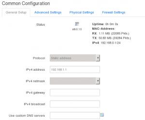 Interface Configuration