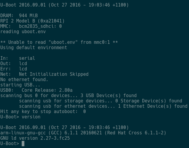 Building and Booting Upstream Linux and U-Boot for Raspberry